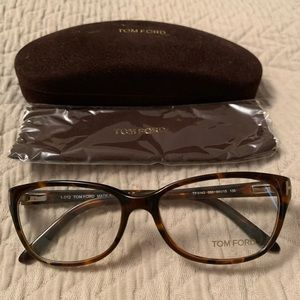 Tom Ford glasses TF5142 in Havana